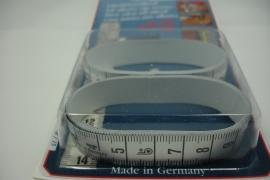 [ 8209 ] 150 Centimeter zelf klevende meetlint, per twee stuks