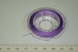 [8007] Pareldraad 0.20 mm, Paars.