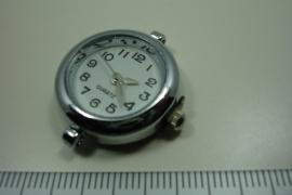 [ 0933 ] Horloge kast glad 28 x 25 mm.  per stuk