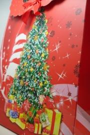 *[ 5969 ] Kerst tas 19 x 27 cm. Kerstboom, per stuk