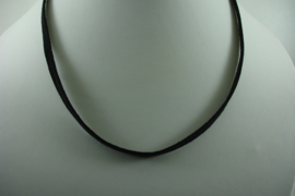 [ 1421 ] 5 mm. Veter Ketting 50 cm. Zwart