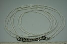 +[ 10085 ] White Clam schelpschijfjes, 2 x 1 meter