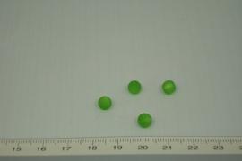[0373 ] Polaris kraal 6 mm. Licht  Groen