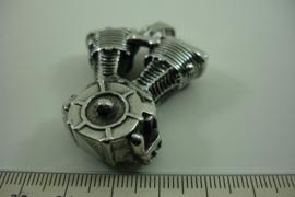 [ 6925 ] RVS Hanger V8 Motor blok, 5 cm.