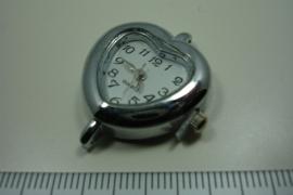 [ 0934 ] Horloge kast Hart 30 x 26 mm.  per stuk
