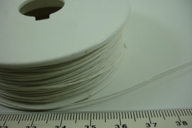 [ 6340 ] Waskoord 0.9 mm. Wit, 100 meter