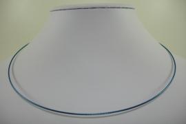 [ 1146 ] Spang 45 cm. met draaislotje, Blauw, per stuk