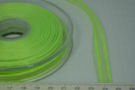 [8085 ] Organza lint  Appeltjes Groen  per Meter