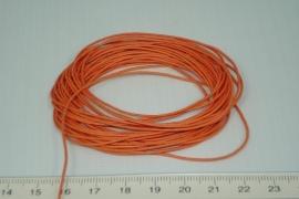 [8061 ] Waskoord 1.1 mm.  Oranje  5 meter