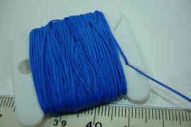 [ 5663-A ] Katoen draad 0.8 mm. Blauw, 10 meter