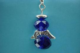 [ 1202 ] Engeltje 45 mm. van Spacer Glas Kralen, Kobalt Blauw, per stuk