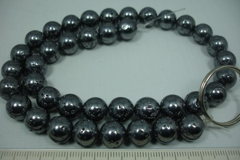 +[5628 ] Galaxy stone 10 mm. Streng van +/- 39 stuks