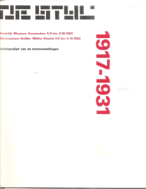 catalogus Stedelijk Museum 695: De Stijl
