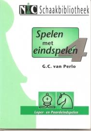 """Perlo, G.C. van: """"Spelen met eindspelen"""", no. 4"""