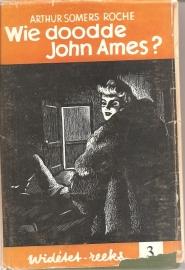 """Somers Roch, Arthur: """"Wie doodde John Ames?"""""""