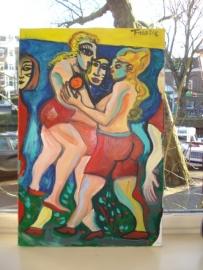 Fabrice: schilderij