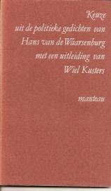 """Waarsenburg, Hans van: """"Keuze uit de politieke gedichten van Hans van Waarsenburg""""."""