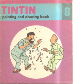 Kuifje: Tintin painting and drawing boook 08