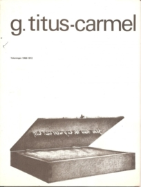 Catalogus Stedelijk Museum 541: G. Titus-Carmel.