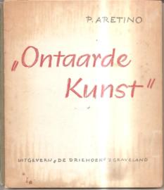 """Aretino, P.: """"Ontaarde kunst"""""""