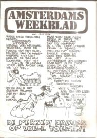 Amsterdams Weekblad 13 nummers (1972 en 1973)