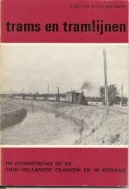 """Dijkers, A. en Hesselink, A.G.: """"De stoomtrams op de Zuid-Hollandse eilanden en in Zeeland""""."""