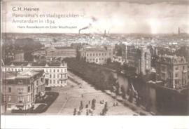 Heinen, G.H.: Panorama's en stadsgezichten  - Amsterdam in 1894
