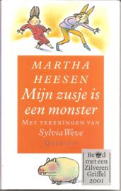 Heesen, Martha: Mijn zusje is een monster