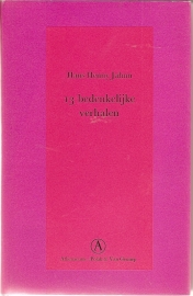 """Jahnn, Hans Henny: """"13 Bedenkelijke verhalen"""". *"""