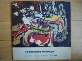 Catalogus Stedelijk Museum 312: Nederlandse bijdrage tot de internationale ontwikkeling sedert         1945