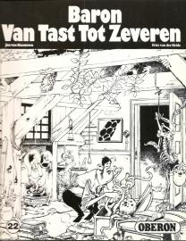 """Oberon Zwartwit Reeks 22: """"baron Van Tast Tot Zeven""""."""