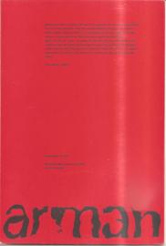 catalogus Stedelijk Museum 365: Arman