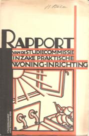 Rapport van de studiecommissie inzake praktische woning-inrichting