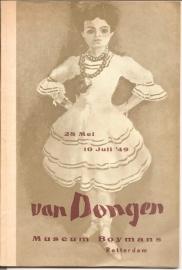 Catalogus Boymans van Beuningen: Kees van Dongen.