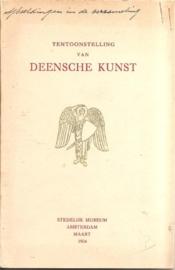 Catalogus Stedelijk museum zonder nummer: Deensche Kunst