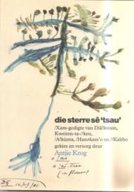 Krog, Antjie: die sterre sê 'tsau'