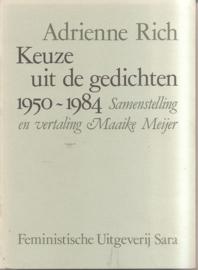 Rich, Adrienne: Keuze uit de geichten 1950-1984