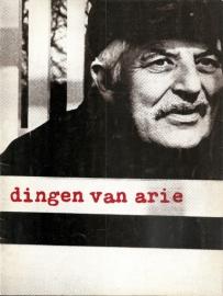 Catalogus Stedelijk Museum 454: Dingen van Arie.