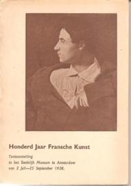 Catalogus Stedelijk Museum, zonder nummer: Honderd Jaar Fransche Kunst