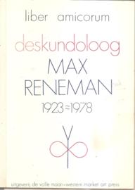Liber Amoricum deskundoloog Max Reneman
