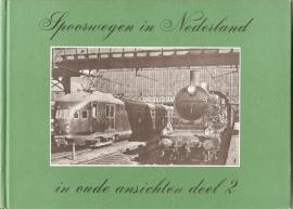 """Hesselink: """"Spoorwegen in Nederland in oude ansichten deel 2""""."""