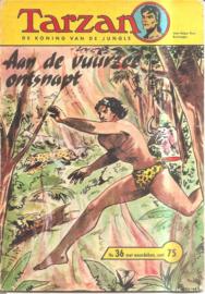 Tarzan nr. 36: Ontsnapt aan de vuurzee