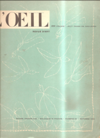 l'oeil numero 22 oktober 1956