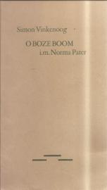 Vinkenoog, Simon: O Boze Boom (gesigneerd, met opdrachtje aan Bert Schierbeek)