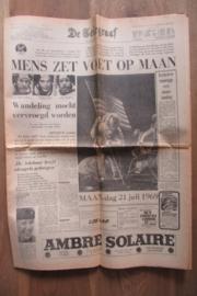 Telegraaf; maandag 21 juli 1969 (maanlanding)