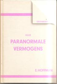 Hoffman, E.: Oefenboek voor paranormale vermogens