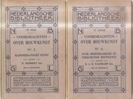 Walenkamp, H.J.M.: Voordrachten over bouwkunst no. 2 en 6