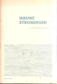 Catalogus Stedelijk Museum zonder nummer: Nieuwe stromingen in de beeldende kunst