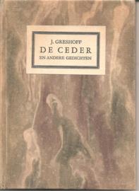 Greshof, J.: De ceder en andere gedichten
