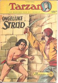 Tarzan no. 33: Ongelijke strijd